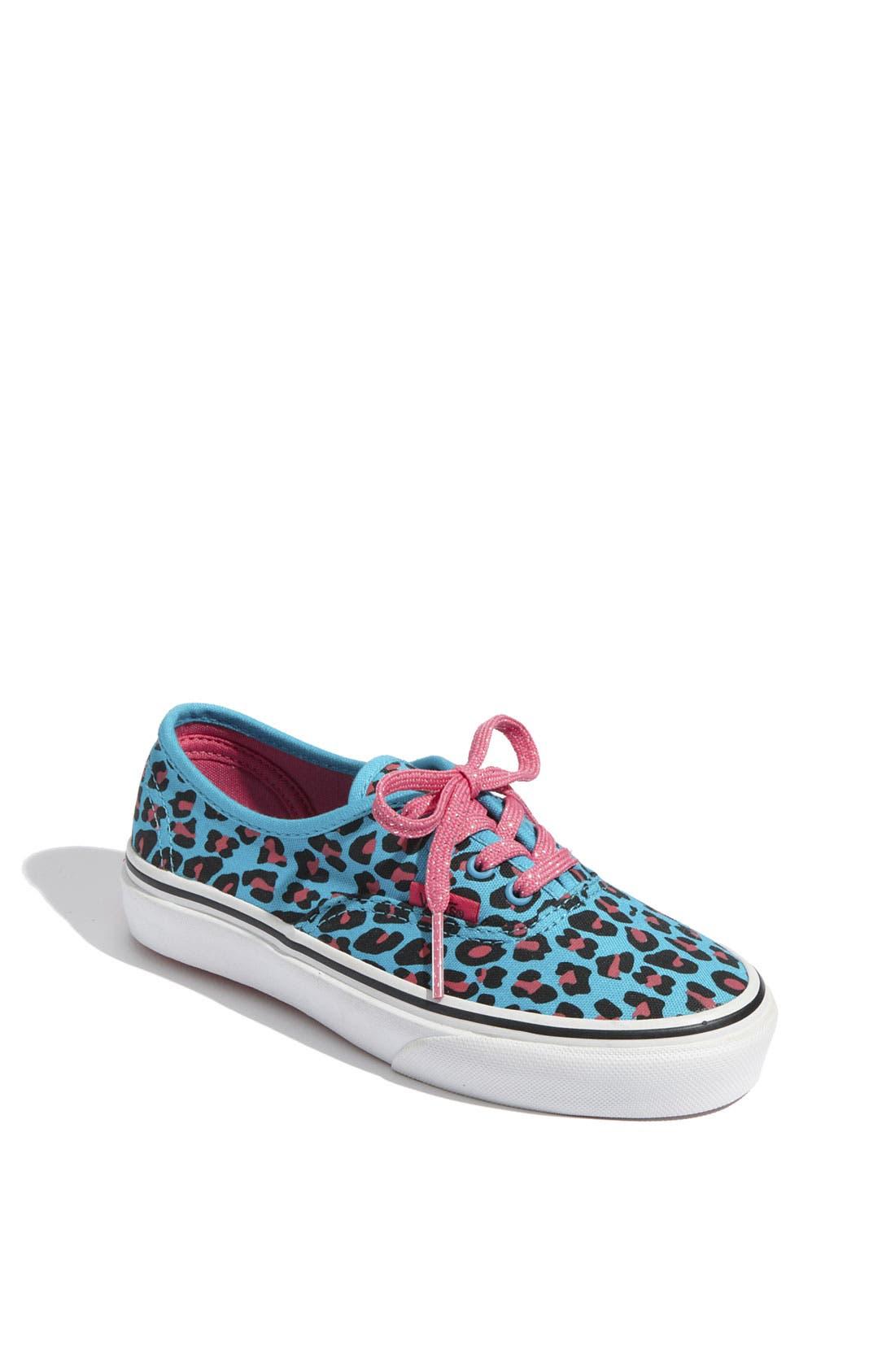 Alternate Image 1 Selected - Vans 'Cheetah' Sneaker (Toddler, Little Kid & Big Kid)