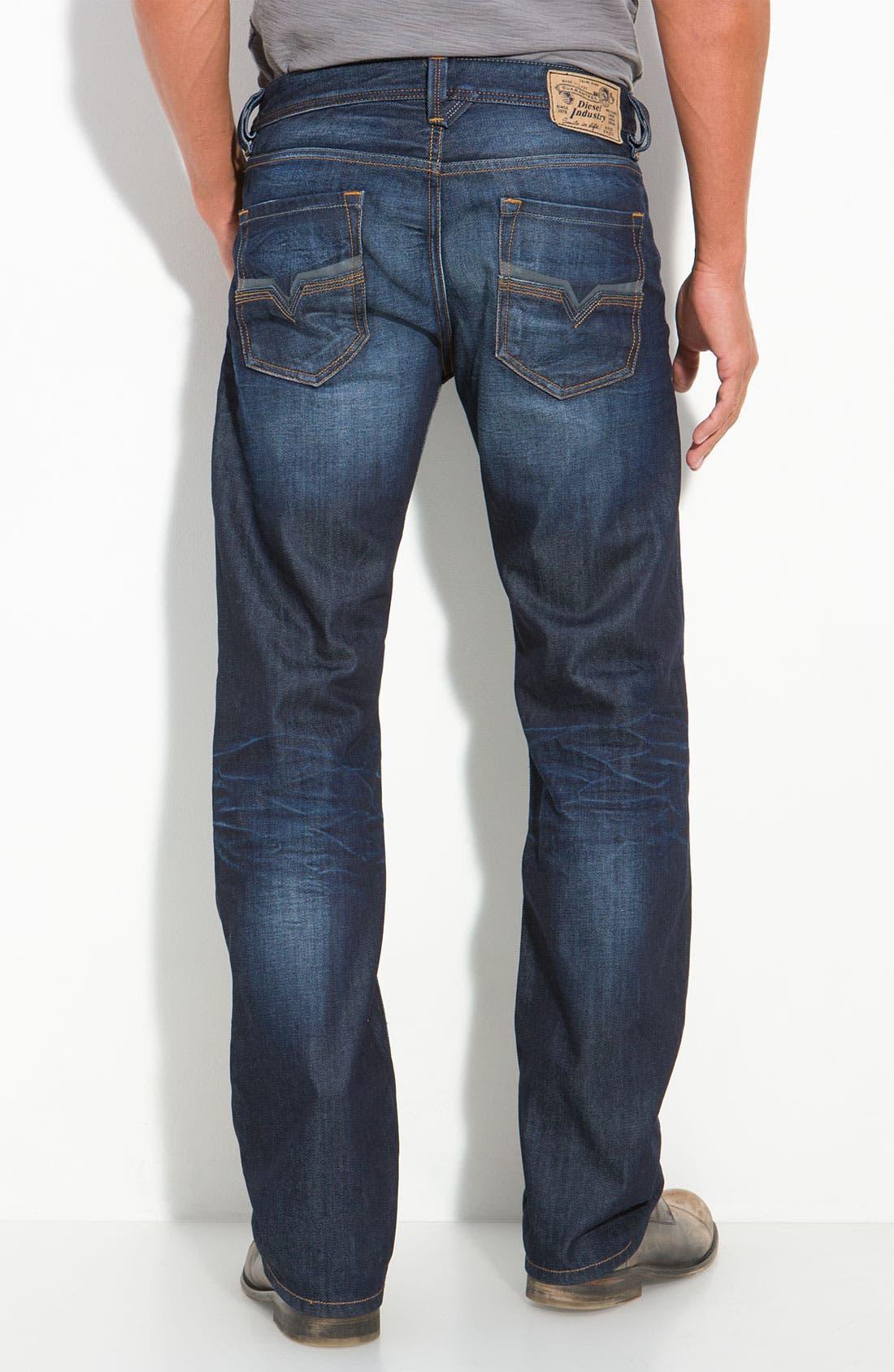 Alternate Image 2  - DIESEL® Larkee Straight Leg Jeans (73N)