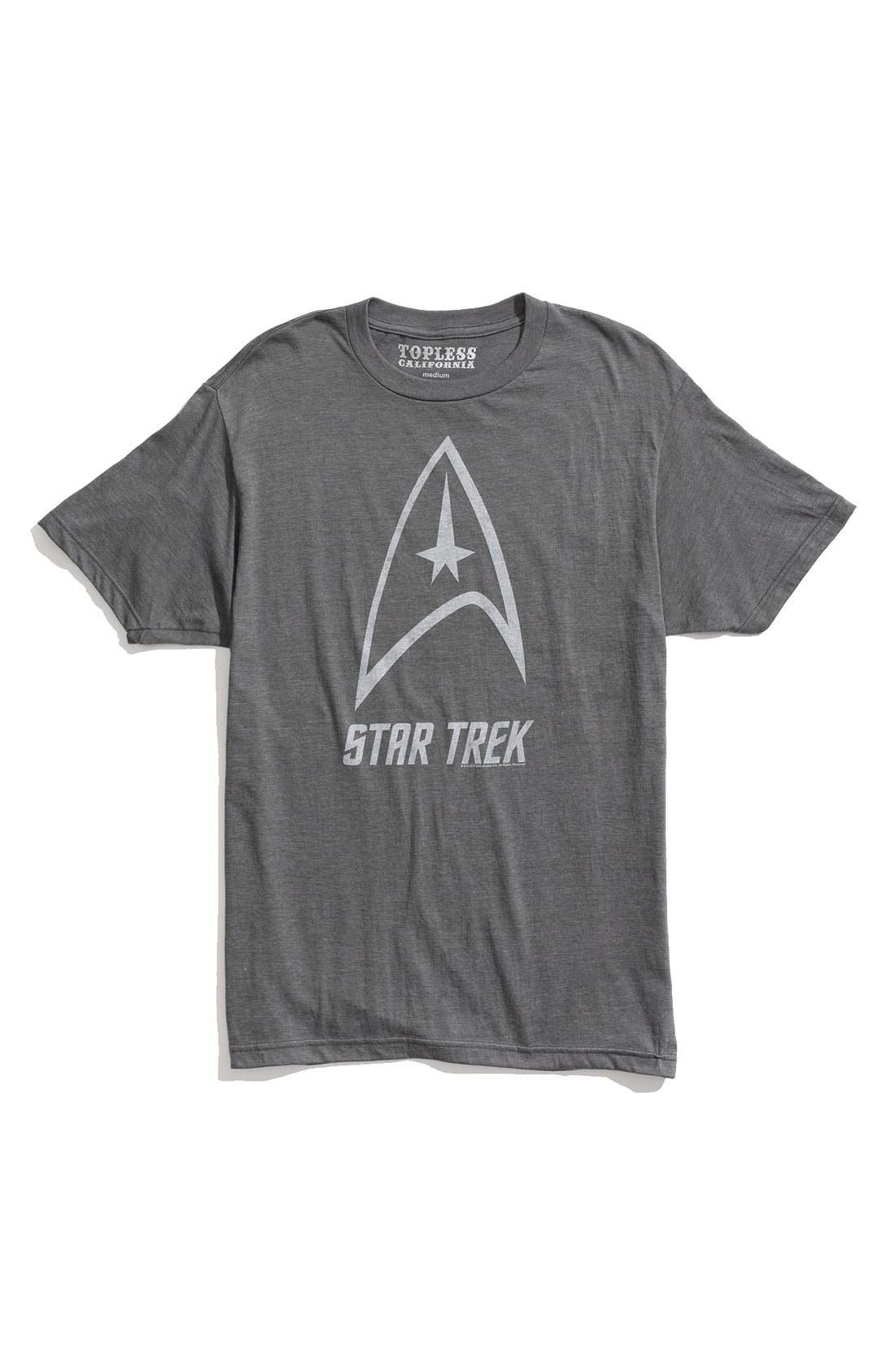 Alternate Image 1 Selected - Topless 'Star Trek™' Screenprint T-Shirt