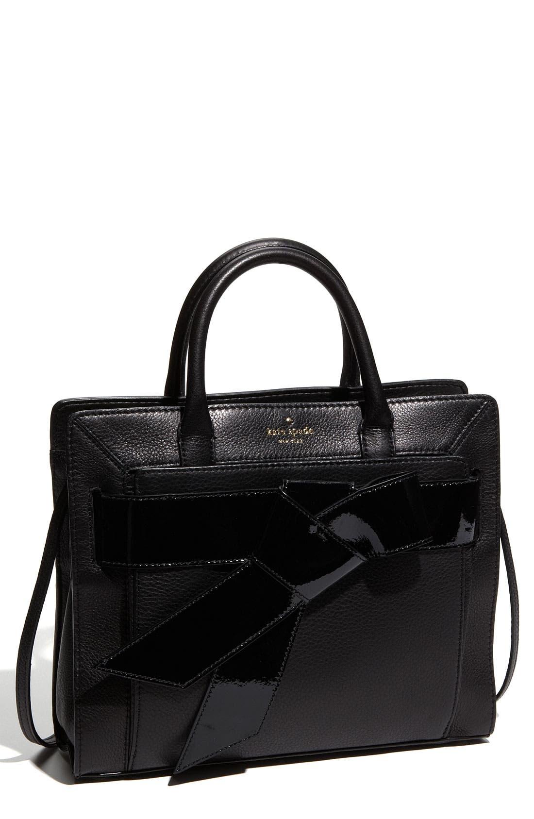 Main Image - kate spade new york 'bow valley - rosa' satchel