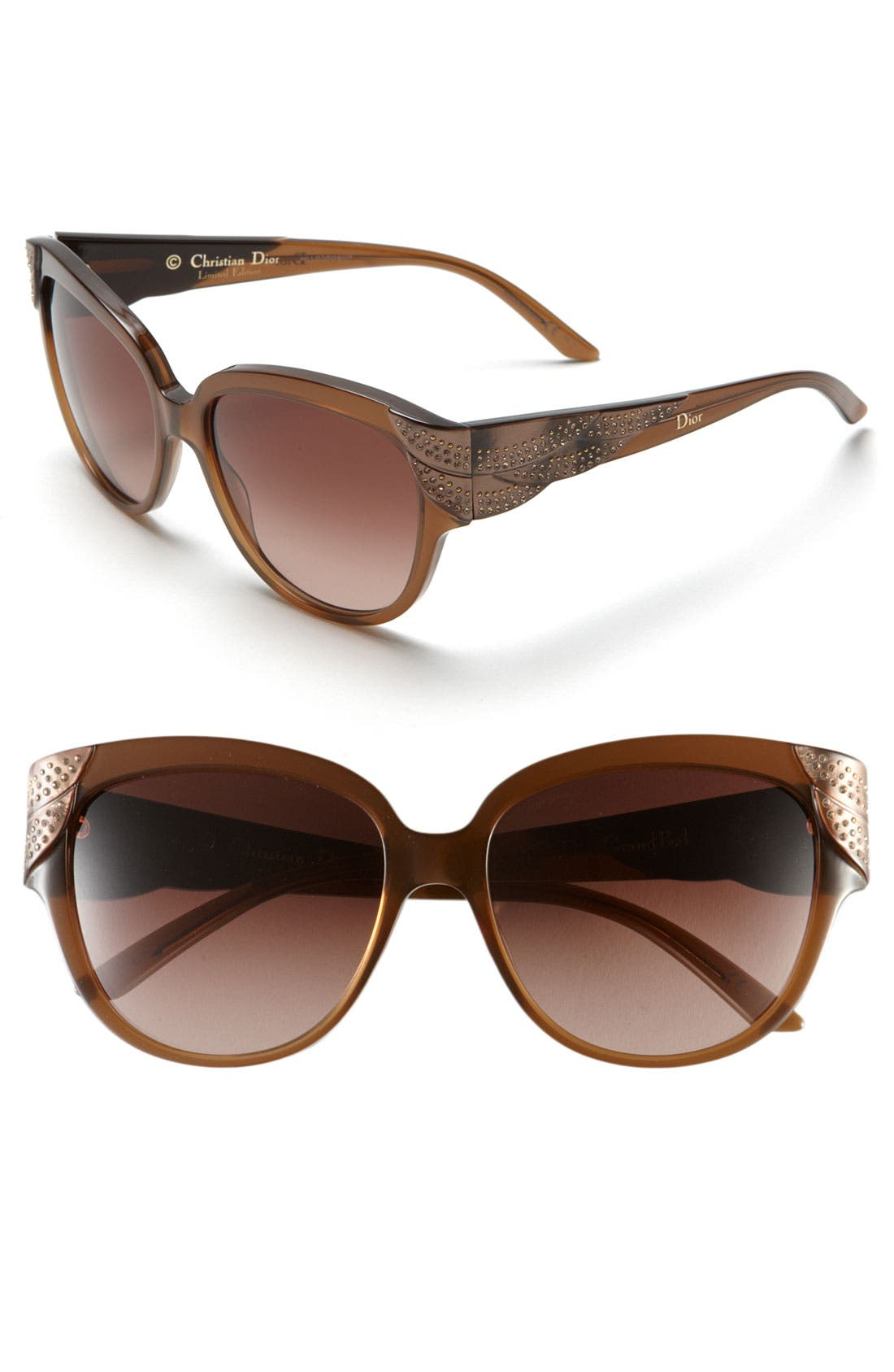 Main Image - Dior 56mm Retro Sunglasses (Limited Edition)