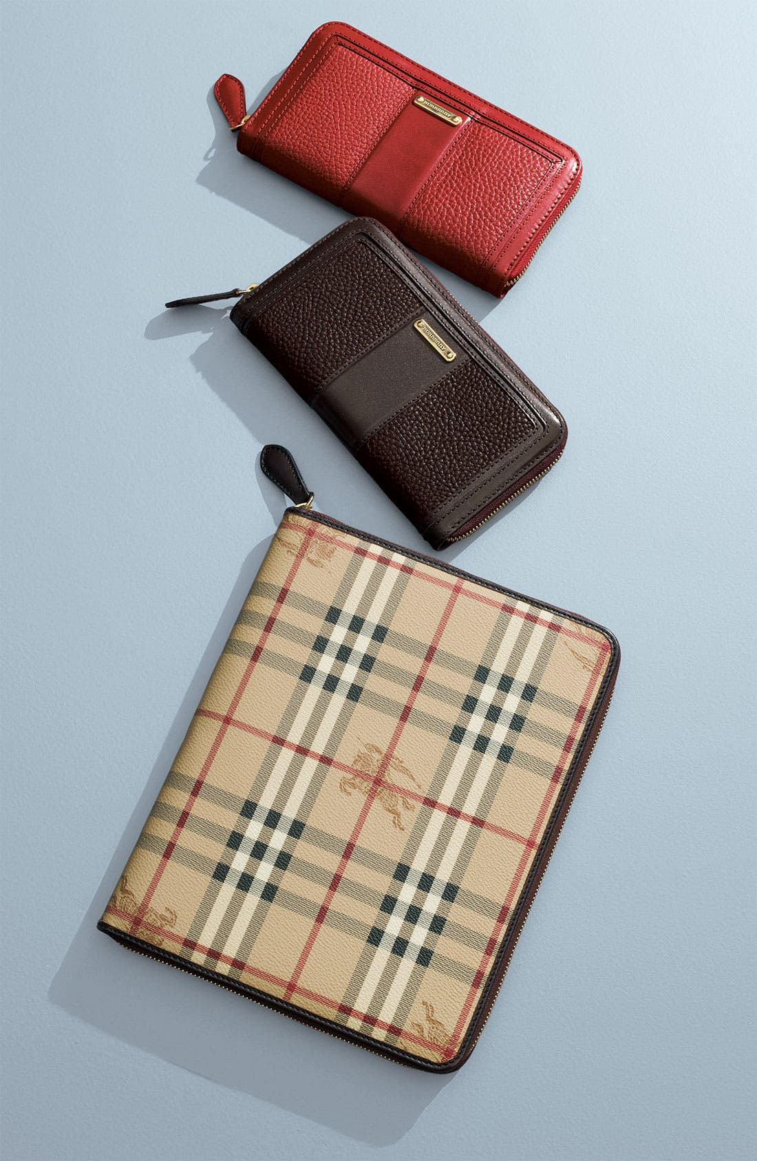 Alternate Image 4  - Burberry 'Haymarket Check' Zip Around iPad 2 Case