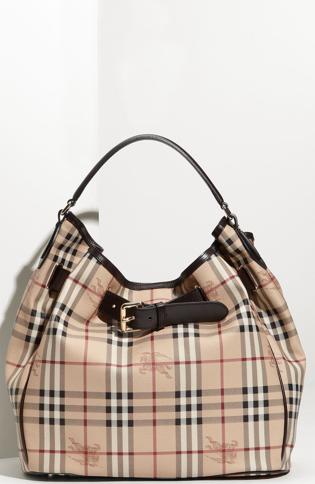 Alternate Image 1 Selected - Burberry 'Haymarket Check' Hobo