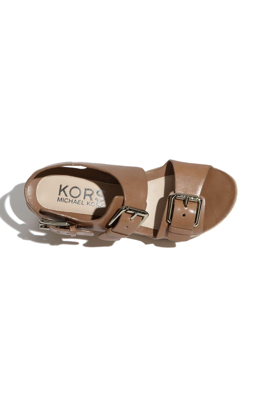 Alternate Image 3  - KORS Michael Kors 'Zoe' Sandal