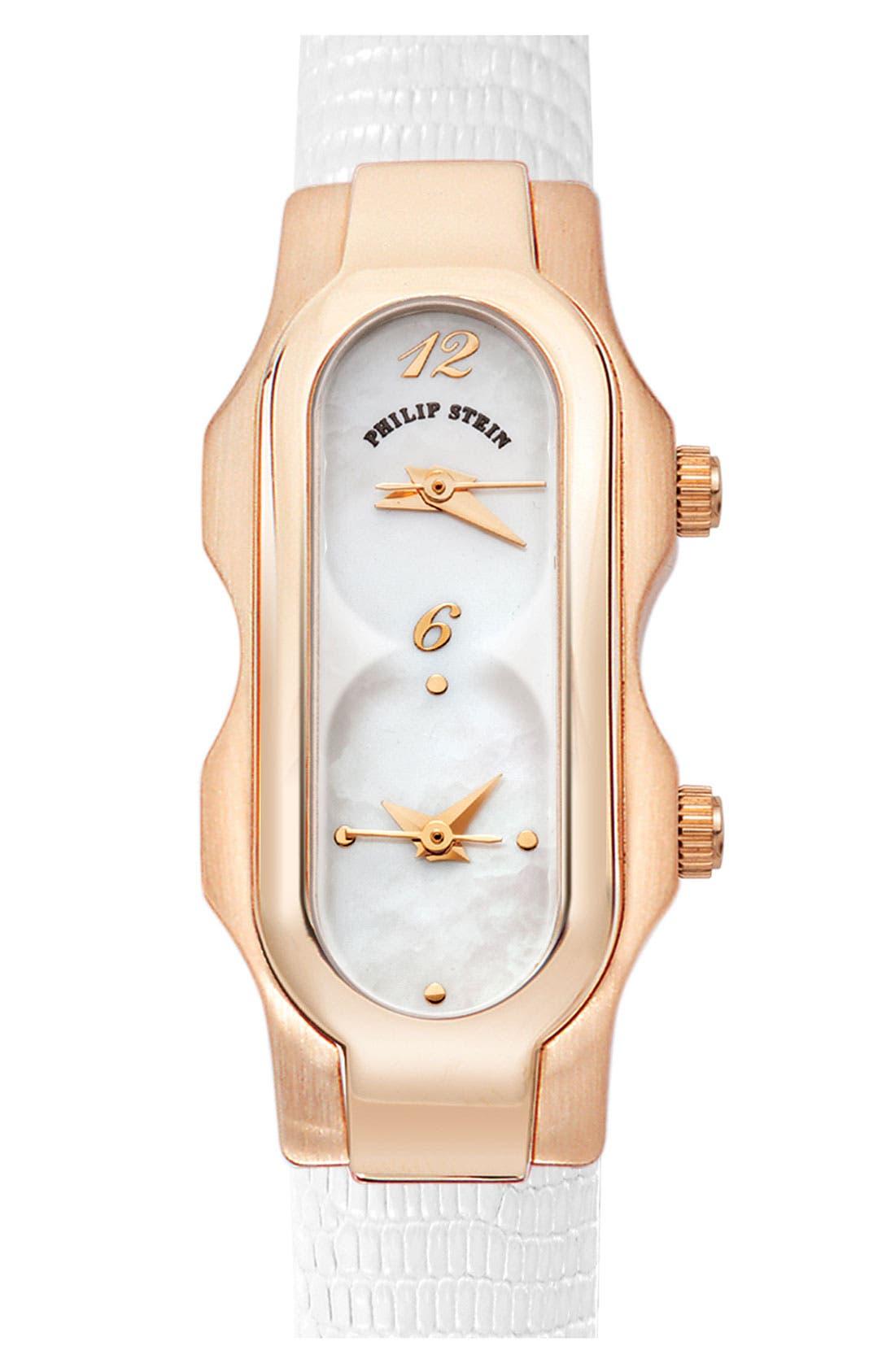 Alternate Image 2  - Philip Stein® 'Signature' Mini Mother-of-Pearl Watch Case