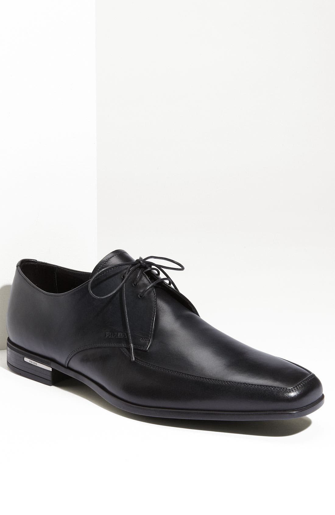 Alternate Image 1 Selected - Prada Apron Toe Oxford