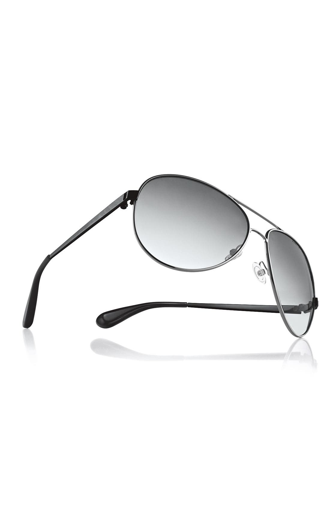 Alternate Image 2  - MARC BY MARC JACOBS 60mm Metal Aviator Sunglasses