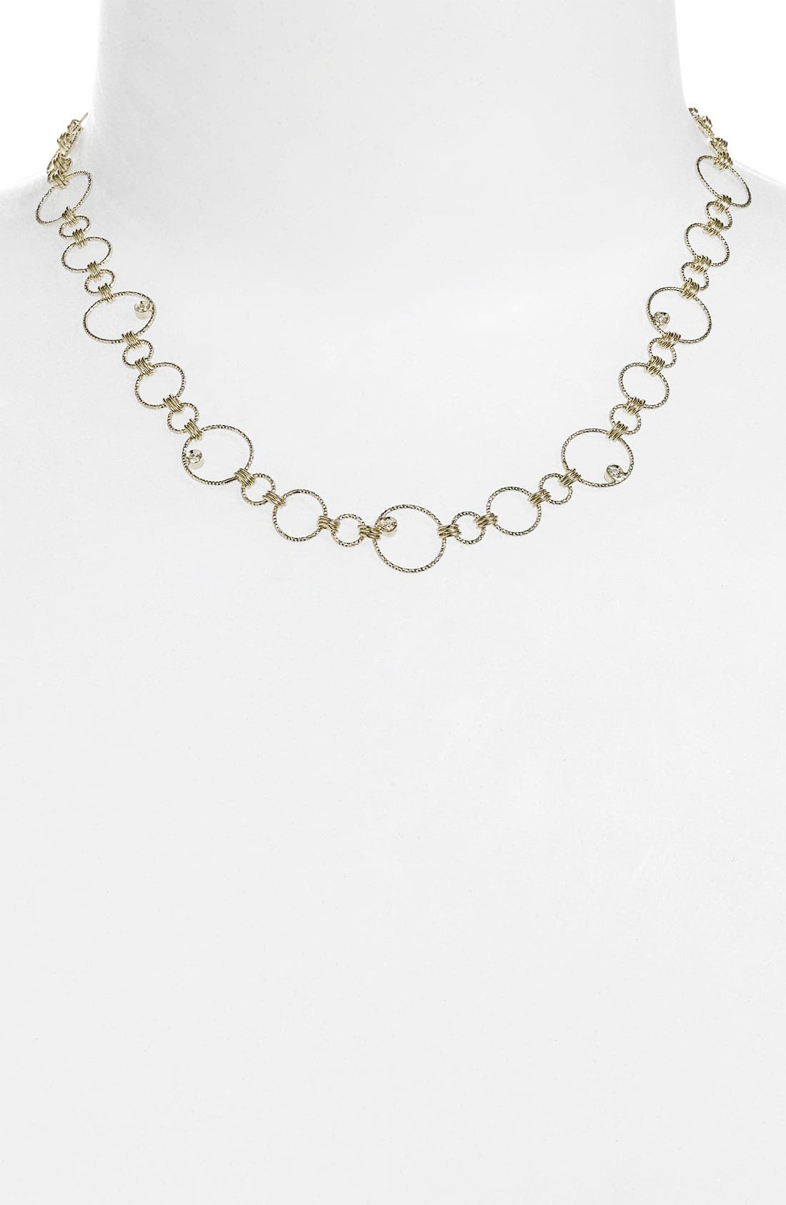 Alternate Image 1 Selected - Roberto Coin 'Moresque' Diamond Necklace
