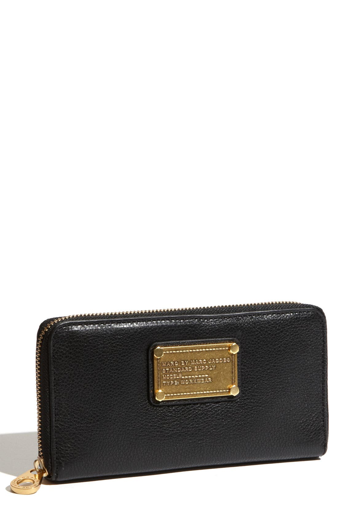 Alternate Image 1 Selected - MARC BY MARC JACOBS 'Classic Q - Vertical Zippy' Wallet