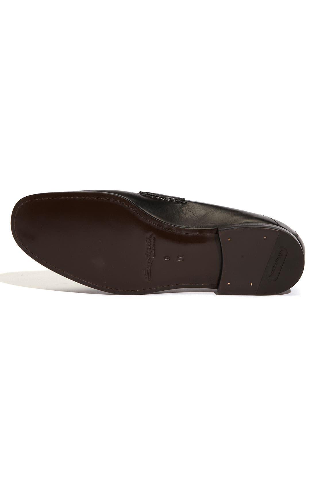Alternate Image 4  - Santoni 'Quest' Loafer (Men)
