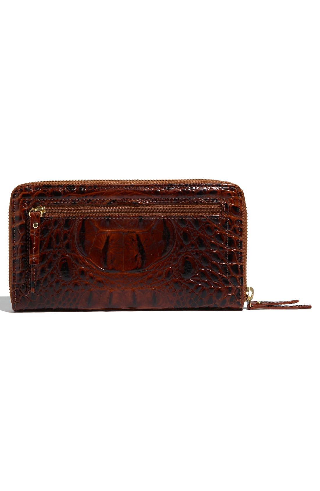 Alternate Image 4  - Brahmin 'Suri' Zip Around Wallet