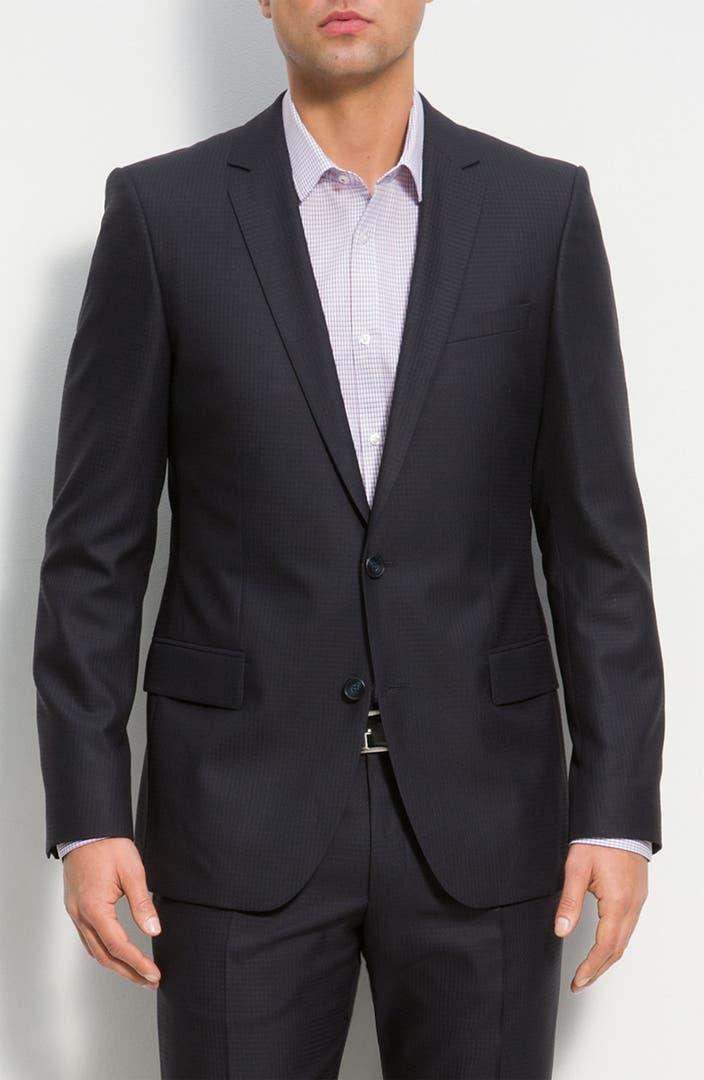 hugo 39 amaro heise 39 suit nordstrom. Black Bedroom Furniture Sets. Home Design Ideas