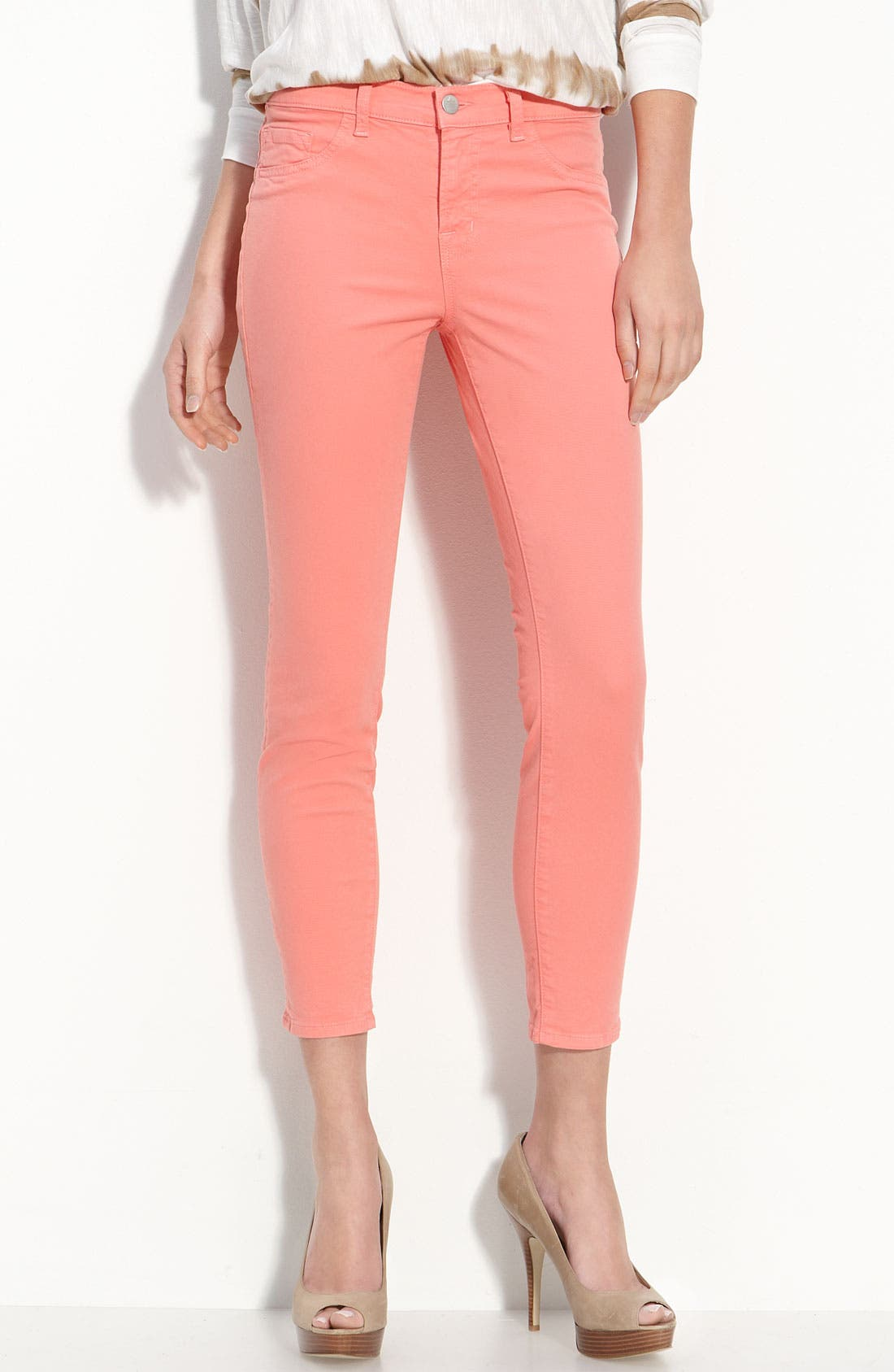 Main Image - J Brand Overdyed Skinny Jeans