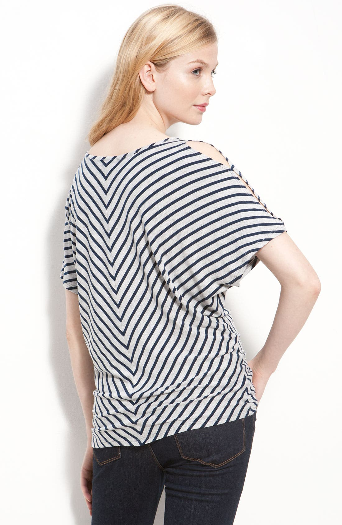 Alternate Image 2  - Cielo Stripe V-Neck Top