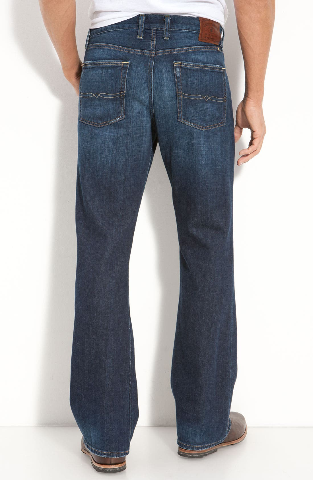 Alternate Image 1 Selected - Lucky Brand 'Vintage' Bootcut Jeans (Dysart)