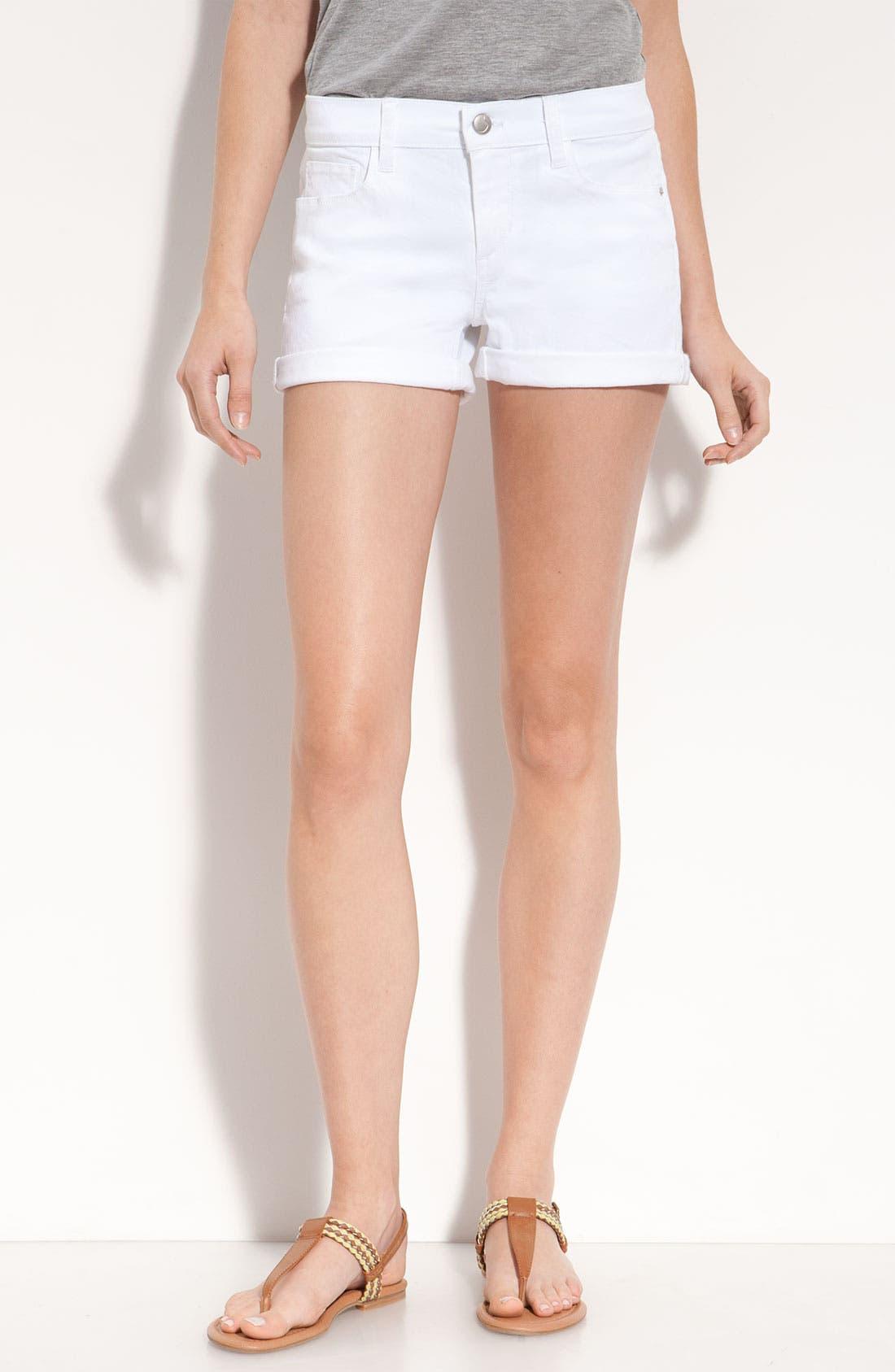 Main Image - Joe's Rolled Denim Shorts (Jenny Wash)