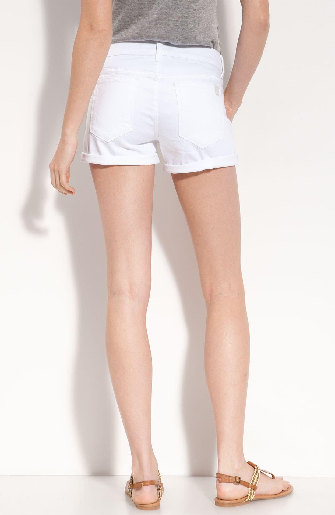 Alternate Image 2  - Joe's Rolled Denim Shorts (Jenny Wash)