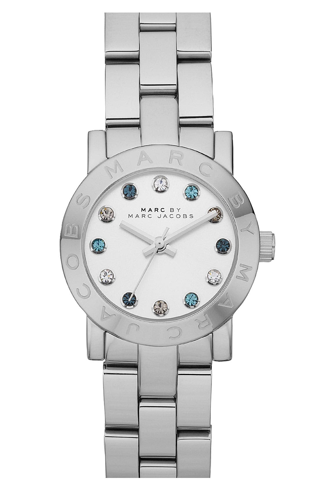 Alternate Image 1 Selected - MARC BY MARC JACOBS 'Small Dexter Amy' Round Bracelet Watch