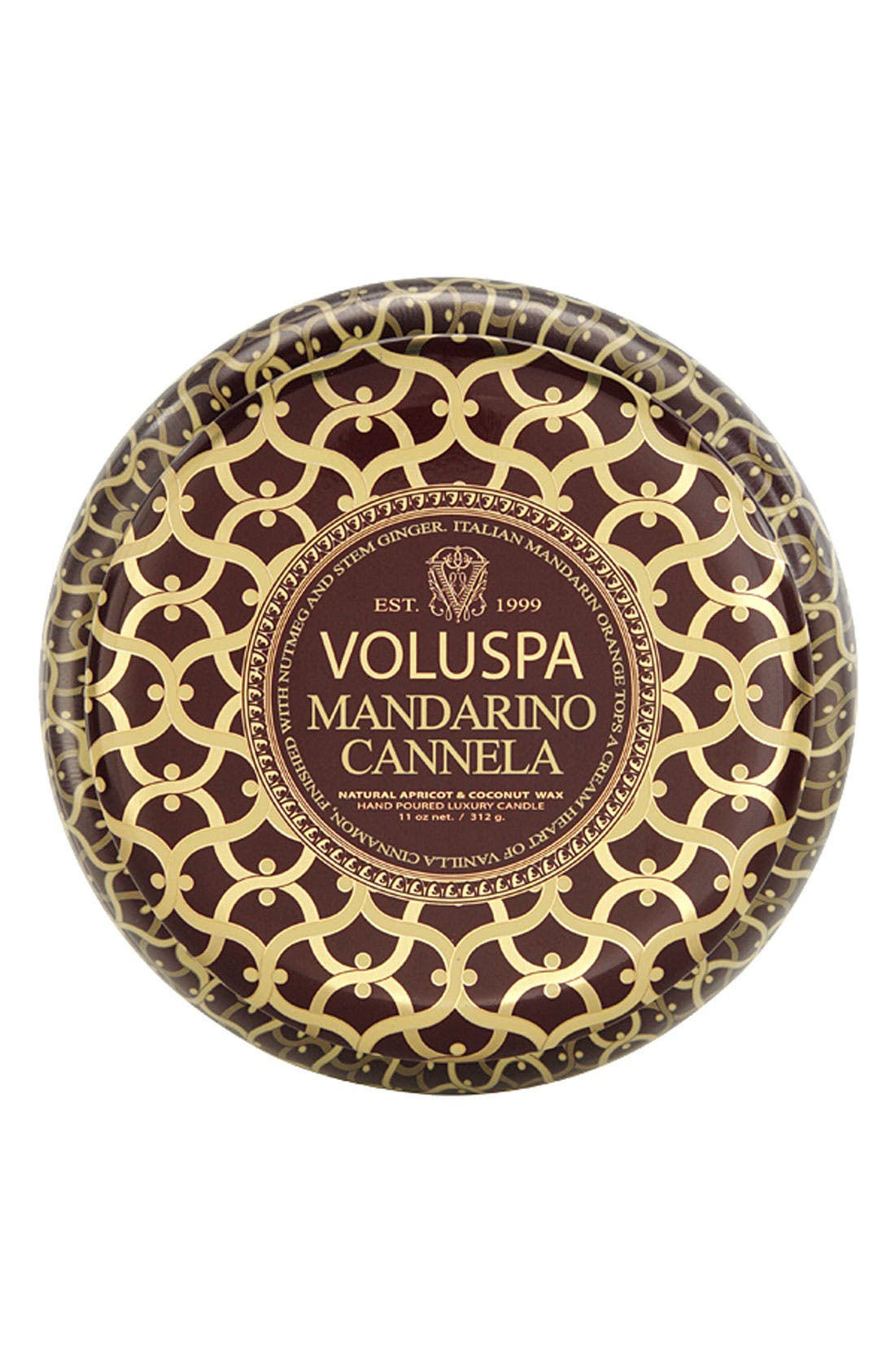 Main Image - Voluspa 'Maison Rouge - Mandarino Cannela' 2-Wick Scented Candle