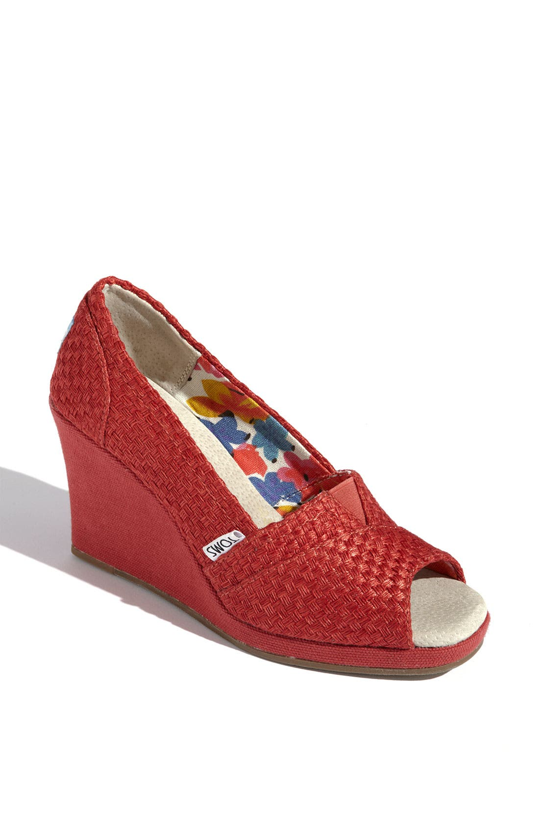 Alternate Image 1 Selected - TOMS 'Savannah' Wedge