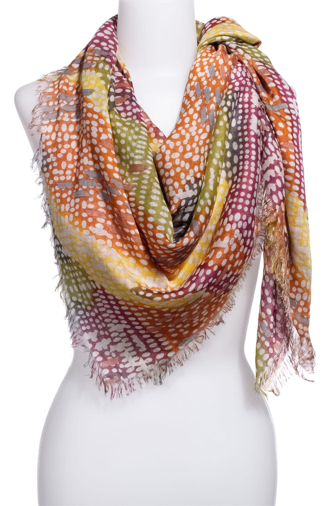 Main Image - Tarnish 'Digital Dot' Scarf