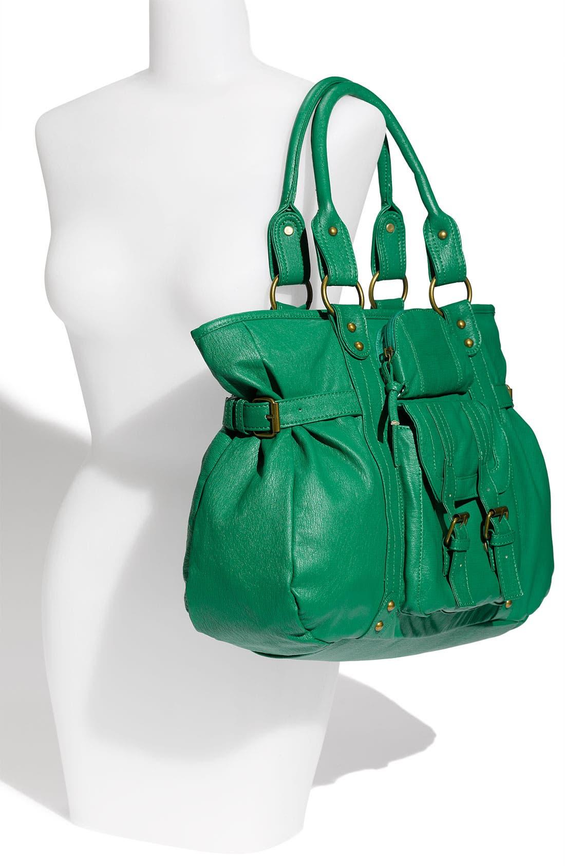 Alternate Image 4  - Cesca Buckle Detail Shoulder Bag