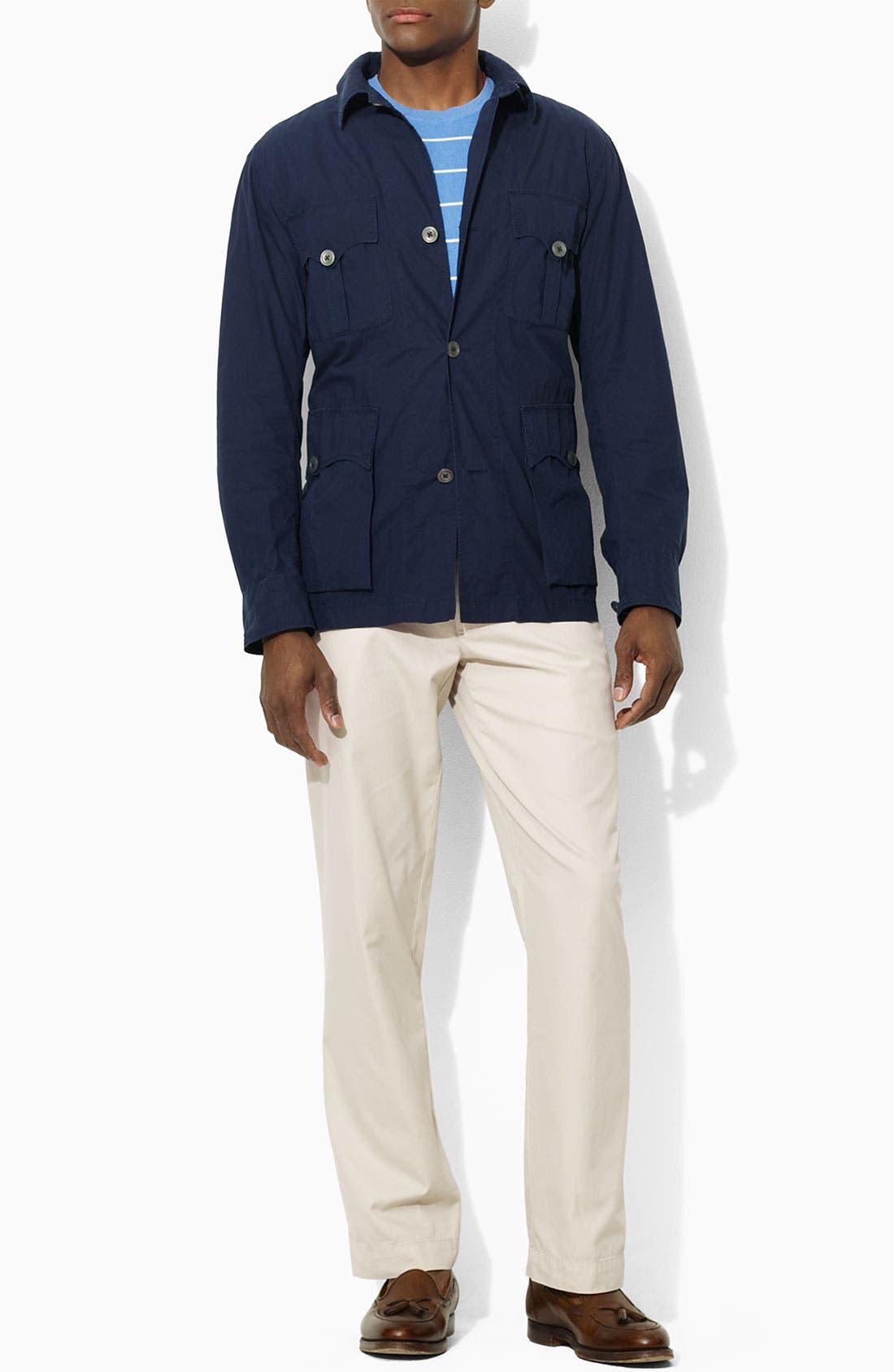 Alternate Image 1 Selected - Polo Ralph Lauren Cotton Poplin Safari Jacket