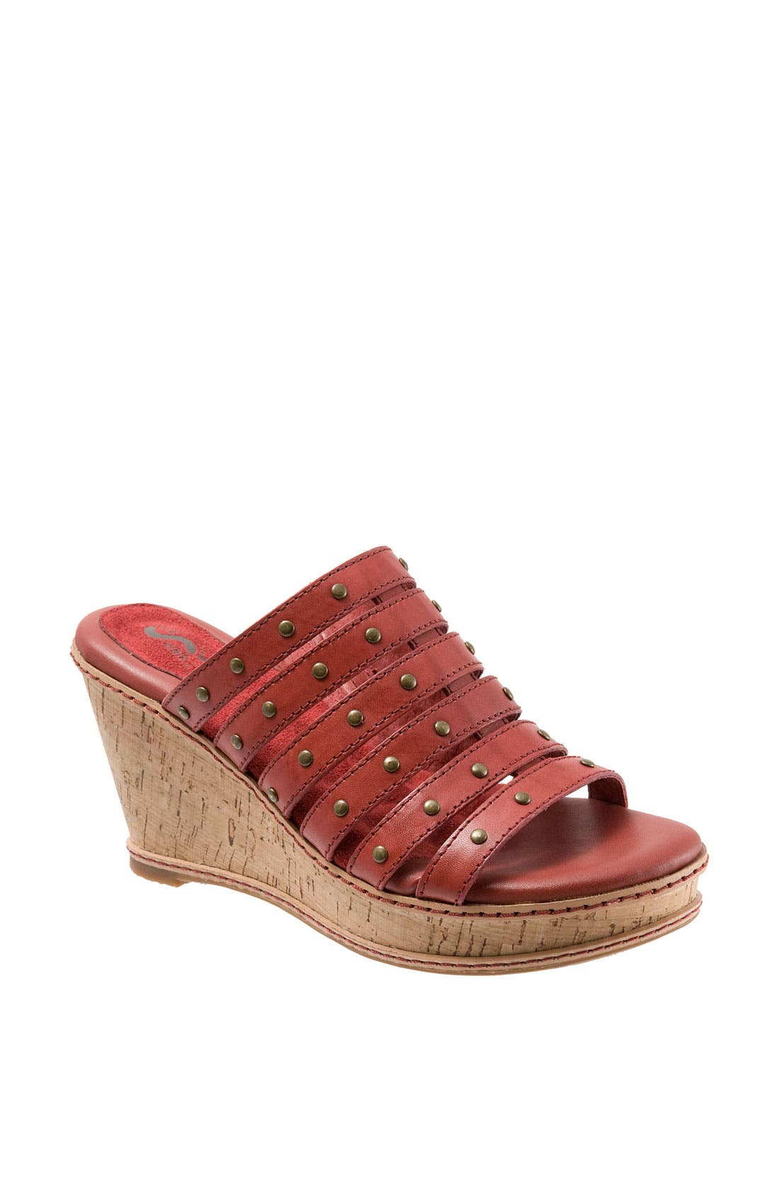 Alternate Image 1 Selected - SoftWalk® 'San Fran' Wedge Sandal