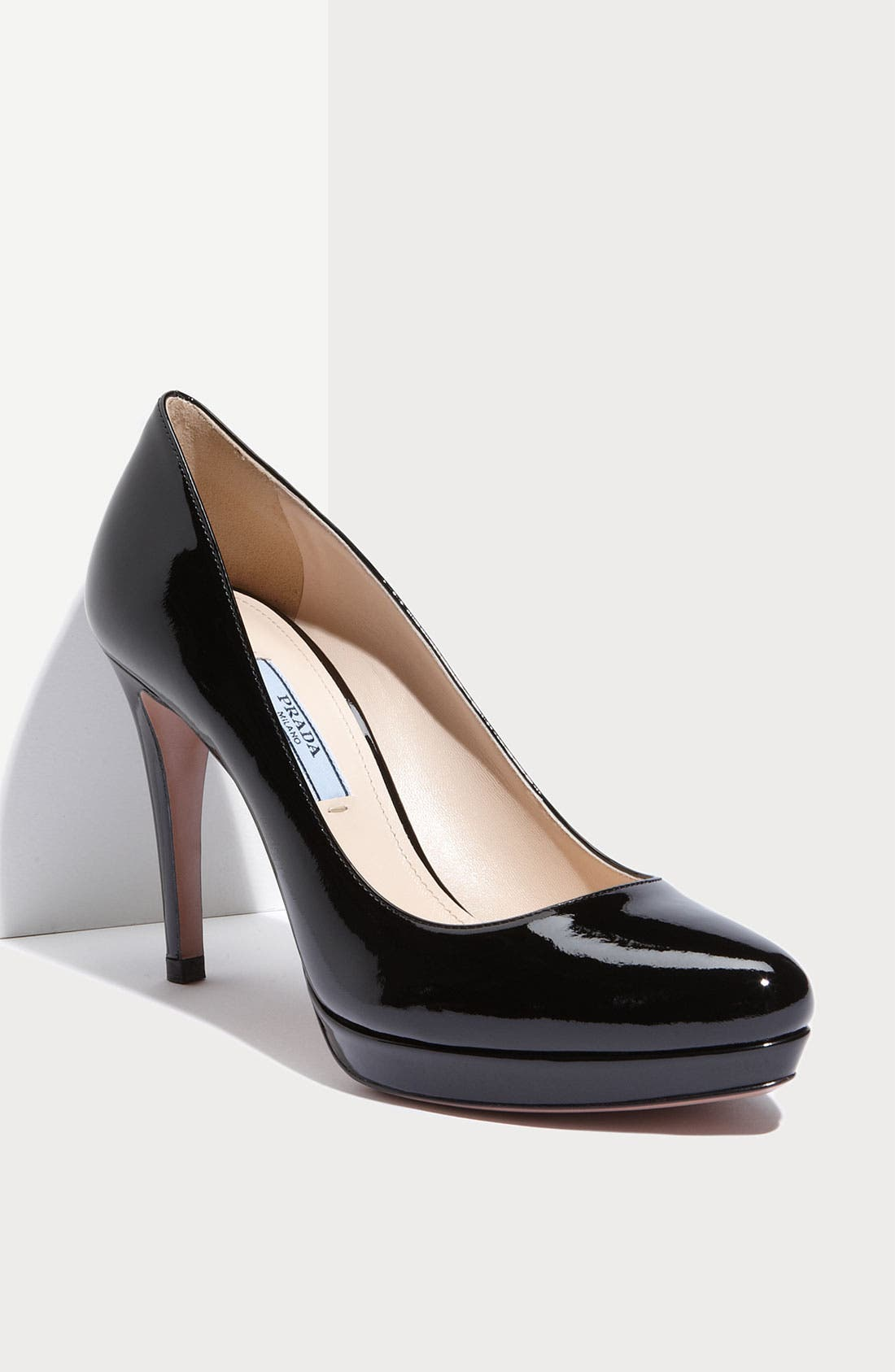 Alternate Image 1 Selected - Prada Platform Patent Pump