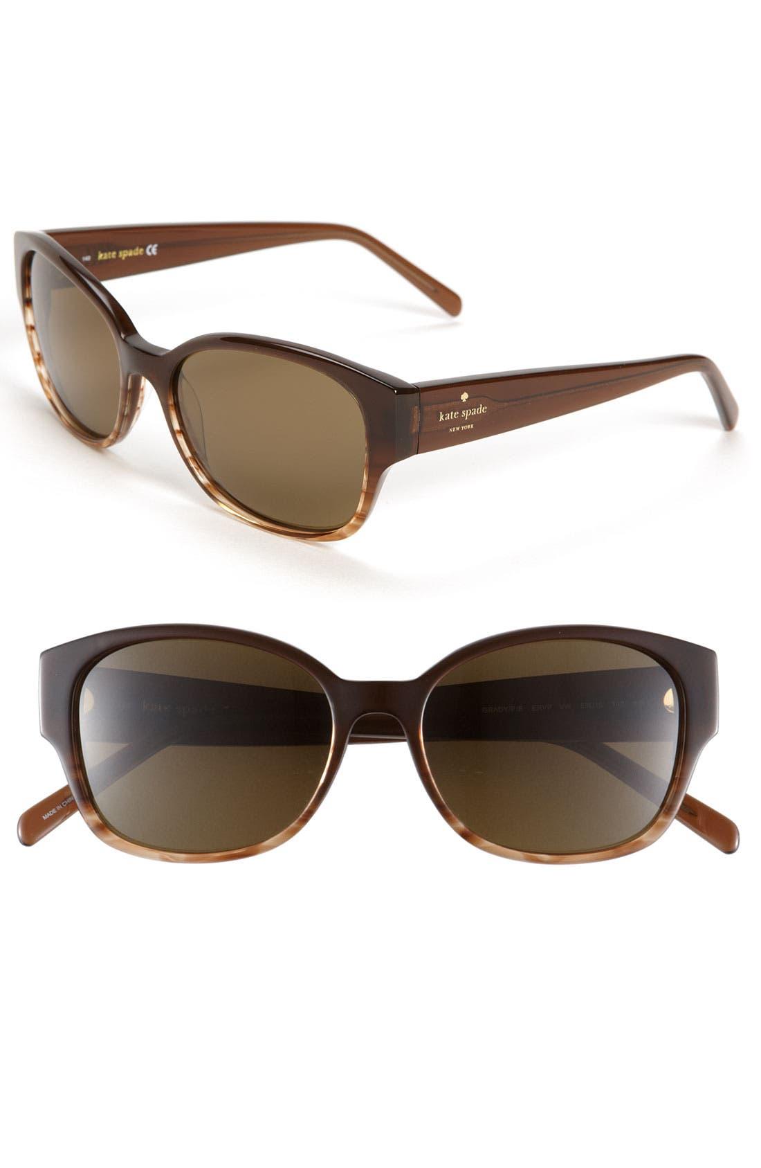Alternate Image 1 Selected - kate spade new york polarized sunglasses