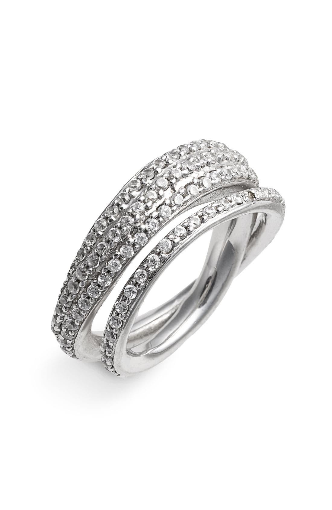 Alternate Image 1 Selected - Tom Binns 'Bejewelled' Double Ring