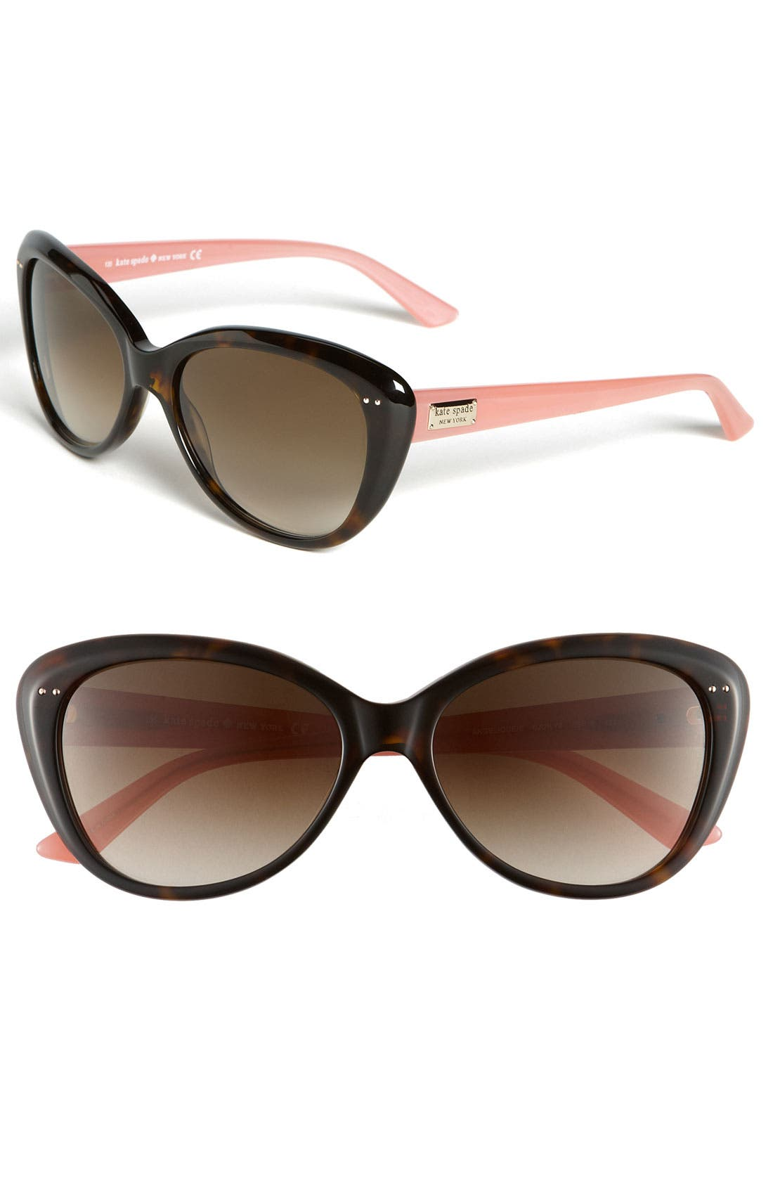 Main Image - kate spade new york 'angelique' 55mm retro sunglasses