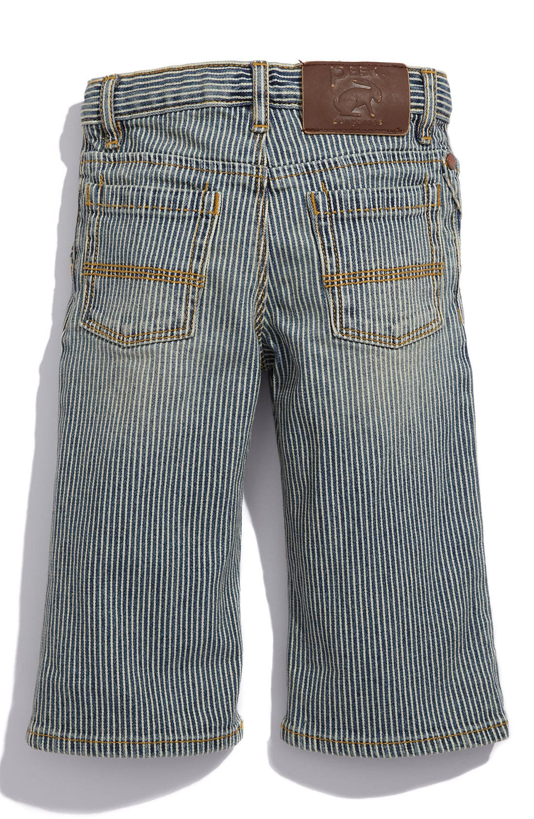 Main Image - Peek 'Big Peanut' Jeans (Infant)