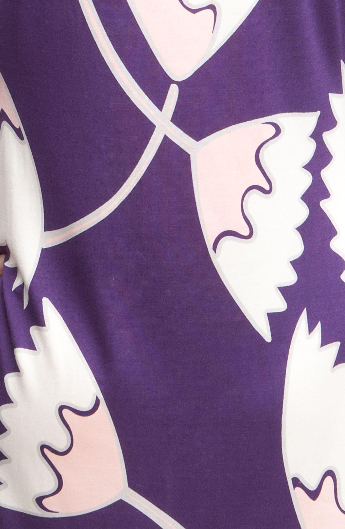 Alternate Image 4  - Diane von Furstenberg 'Ruri' Print Silk Minidress