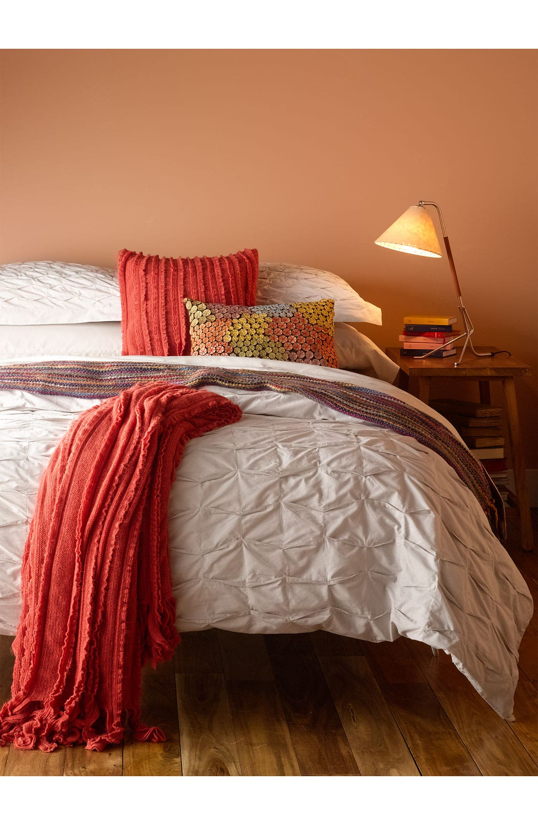 Alternate Image 2  - Nordstrom at Home 'Box Pleat' Duvet Cover