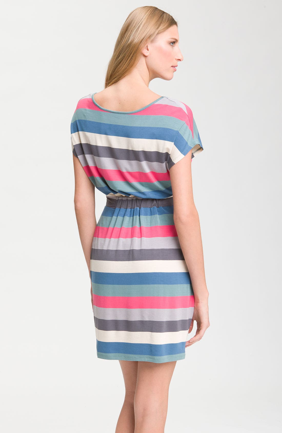 Alternate Image 2  - Felicity & Coco Stripe Knit Dress (Nordstrom Exclusive)
