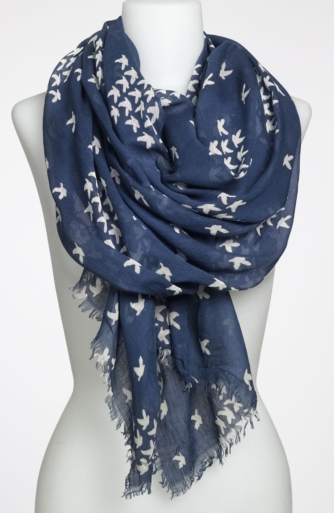Alternate Image 1 Selected - Steve Madden 'School of Birds' Scarf