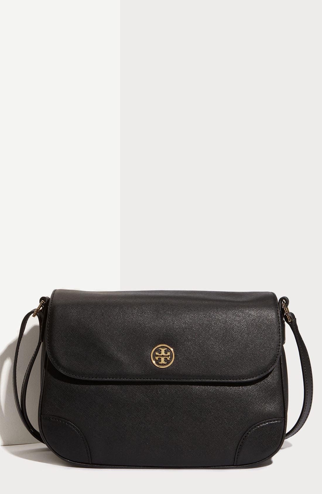 Main Image - Tory Burch 'Robinson' Leather Crossbody Bag
