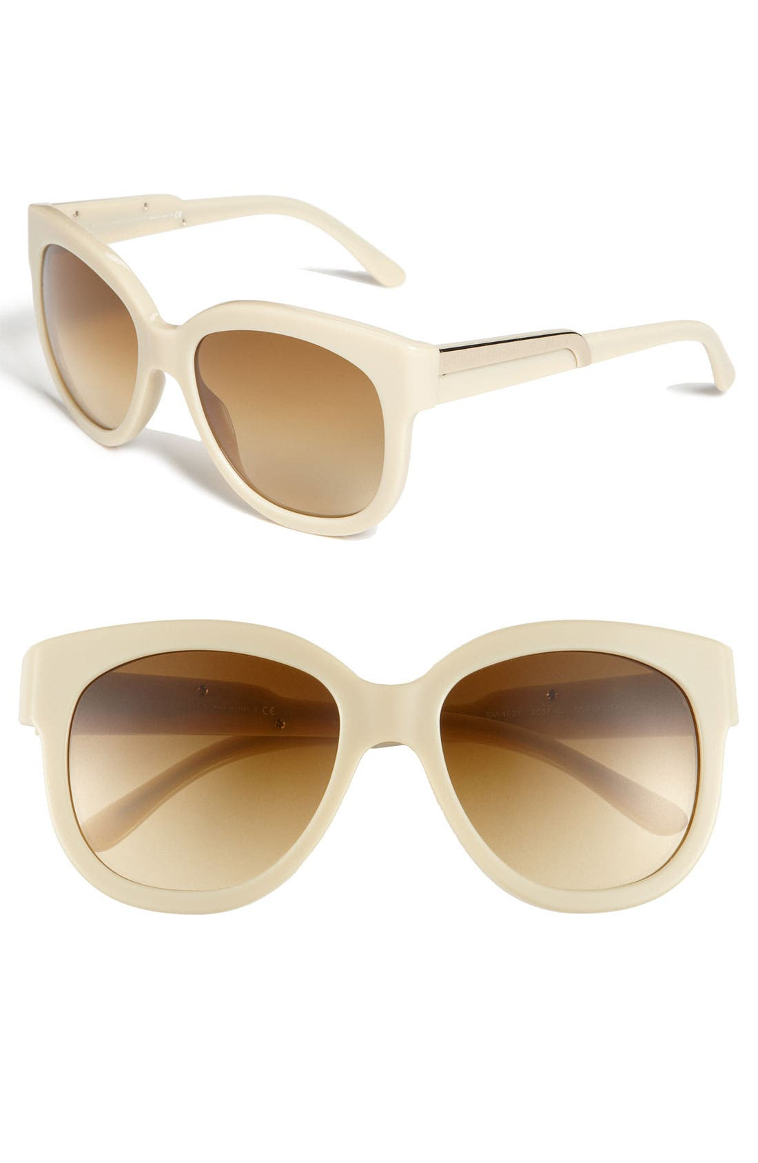 Main Image - Stella McCartney 55mm Oversized Cat's-Eye Sunglasses