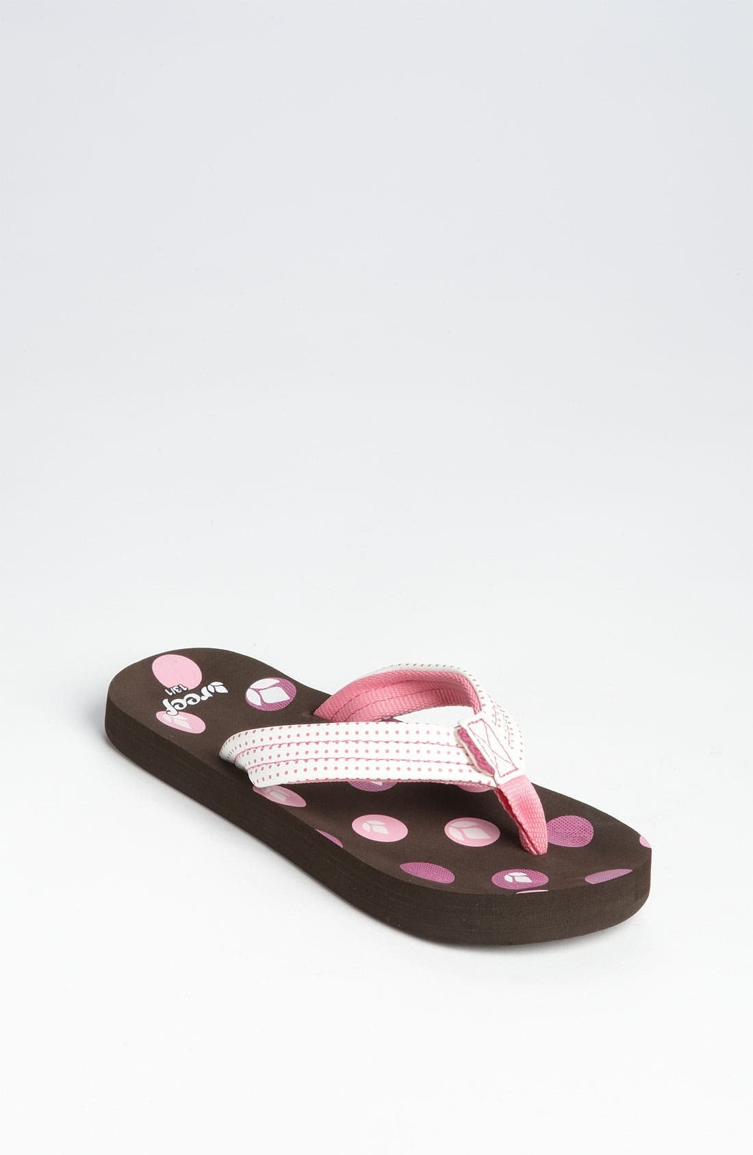 Main Image - Reef 'Little Ahi' Sandal (Walker, Toddler, Little Kid & Big Kid)