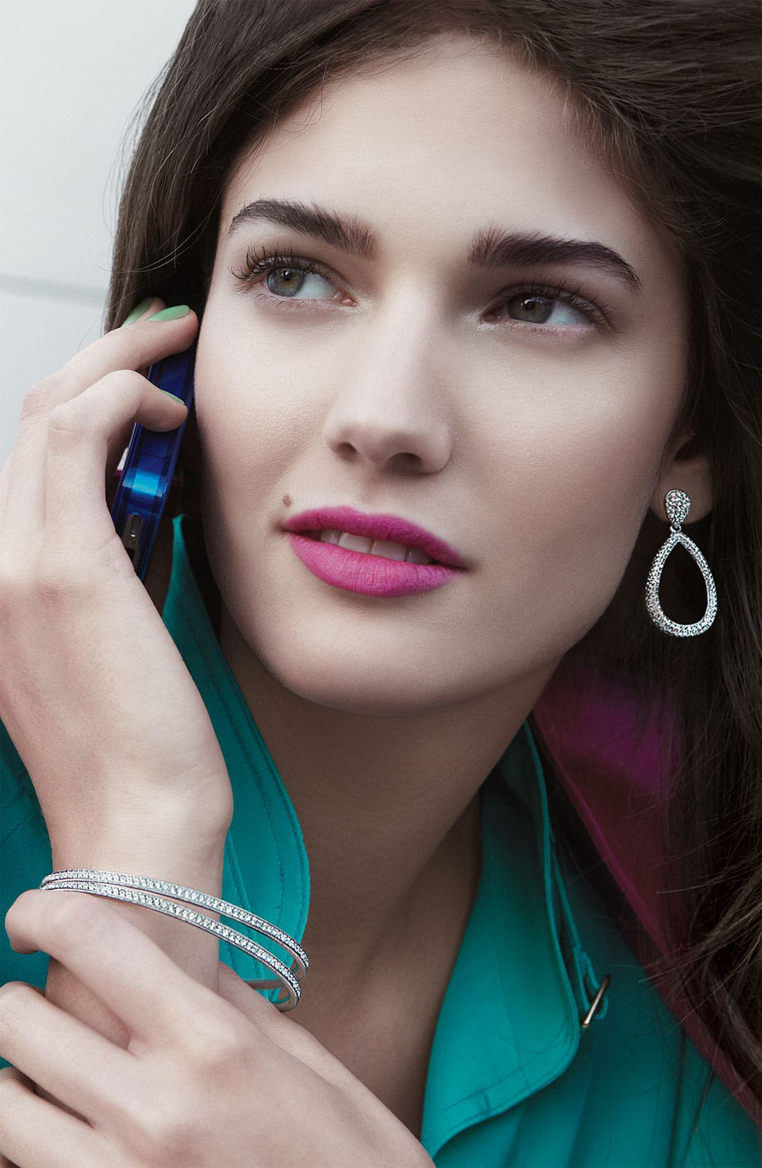 Alternate Image 3  - Nadri Open Teardrop Earrings