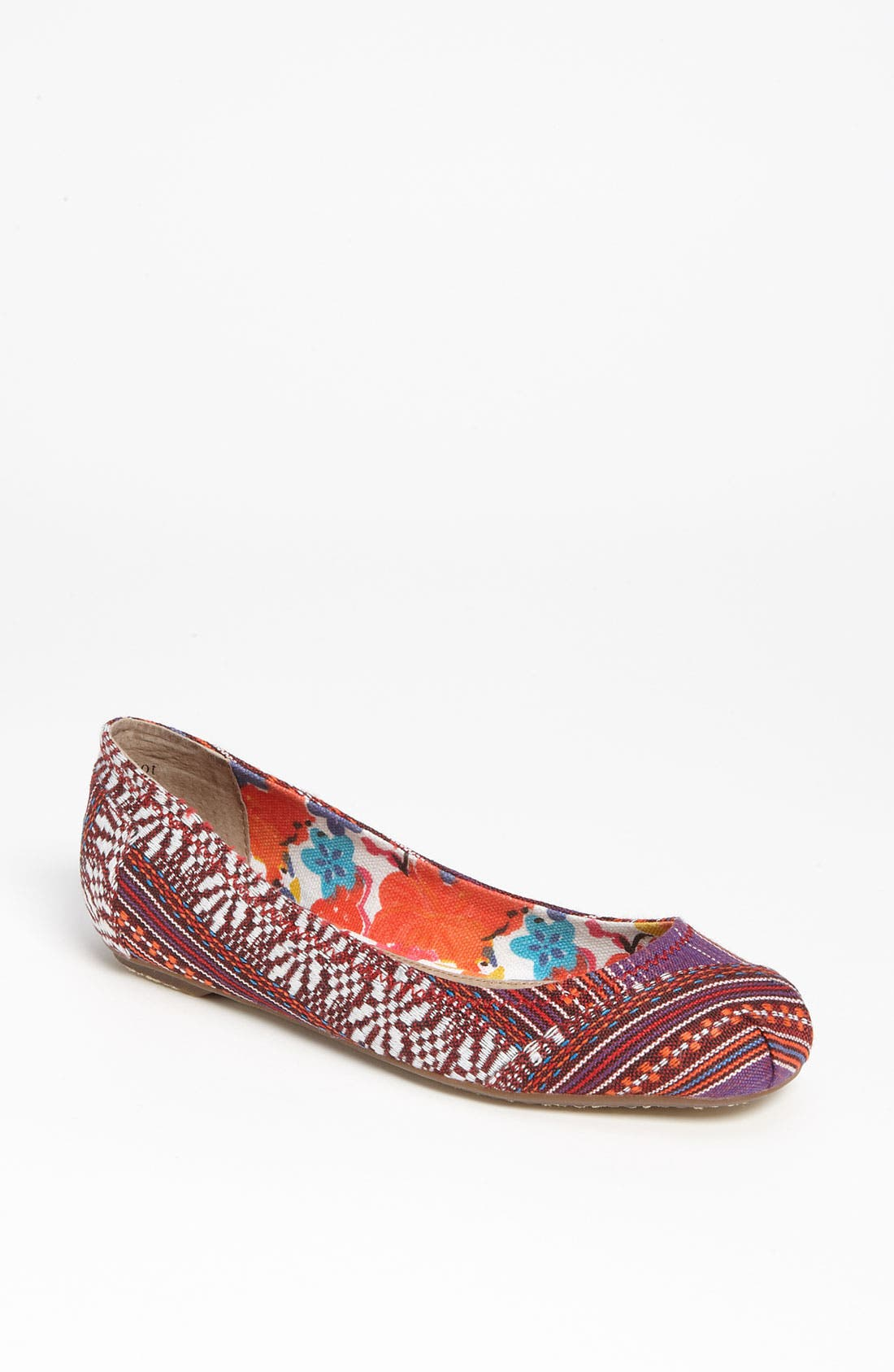 Alternate Image 1 Selected - TOMS 'Lina' Ballet Flat