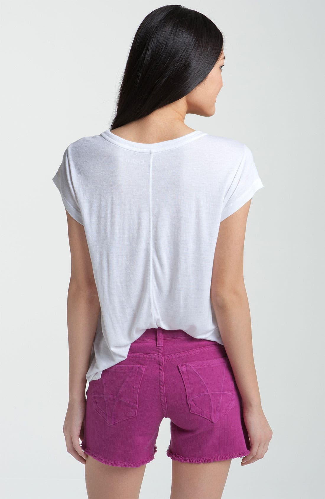 Alternate Image 2  - Caslon® Relaxed Seam Back Tee