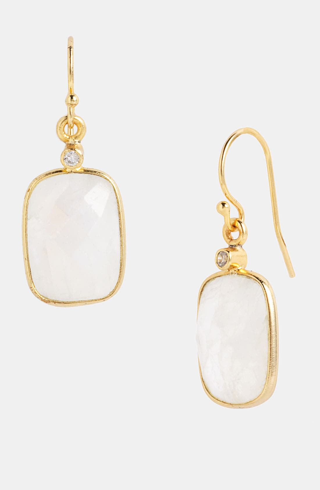 Alternate Image 1 Selected - NuNu Designs Rectangular Drop Earrings