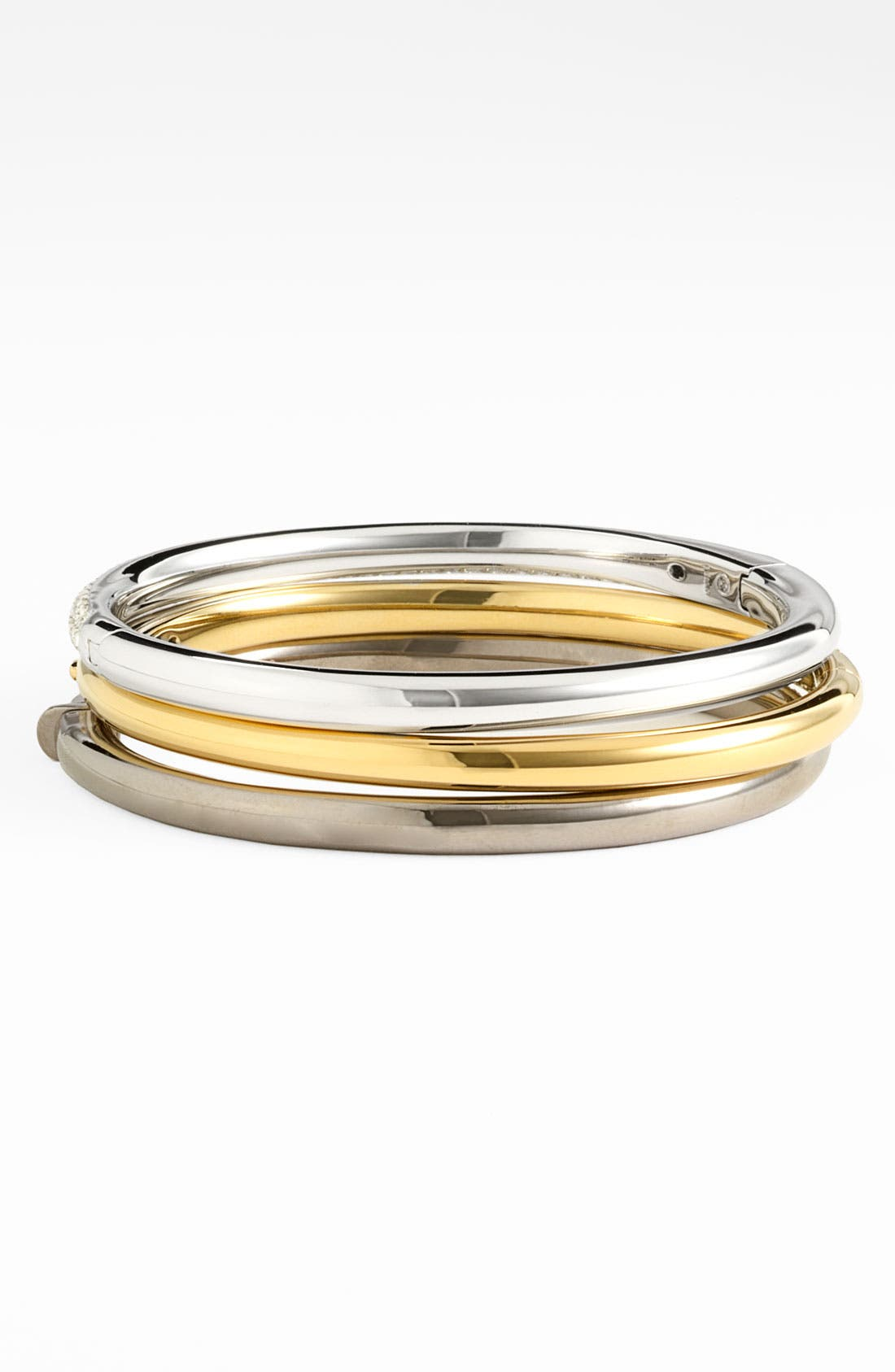 Alternate Image 2  - Nadri 'Pavé Bombe' Hinged Bangle