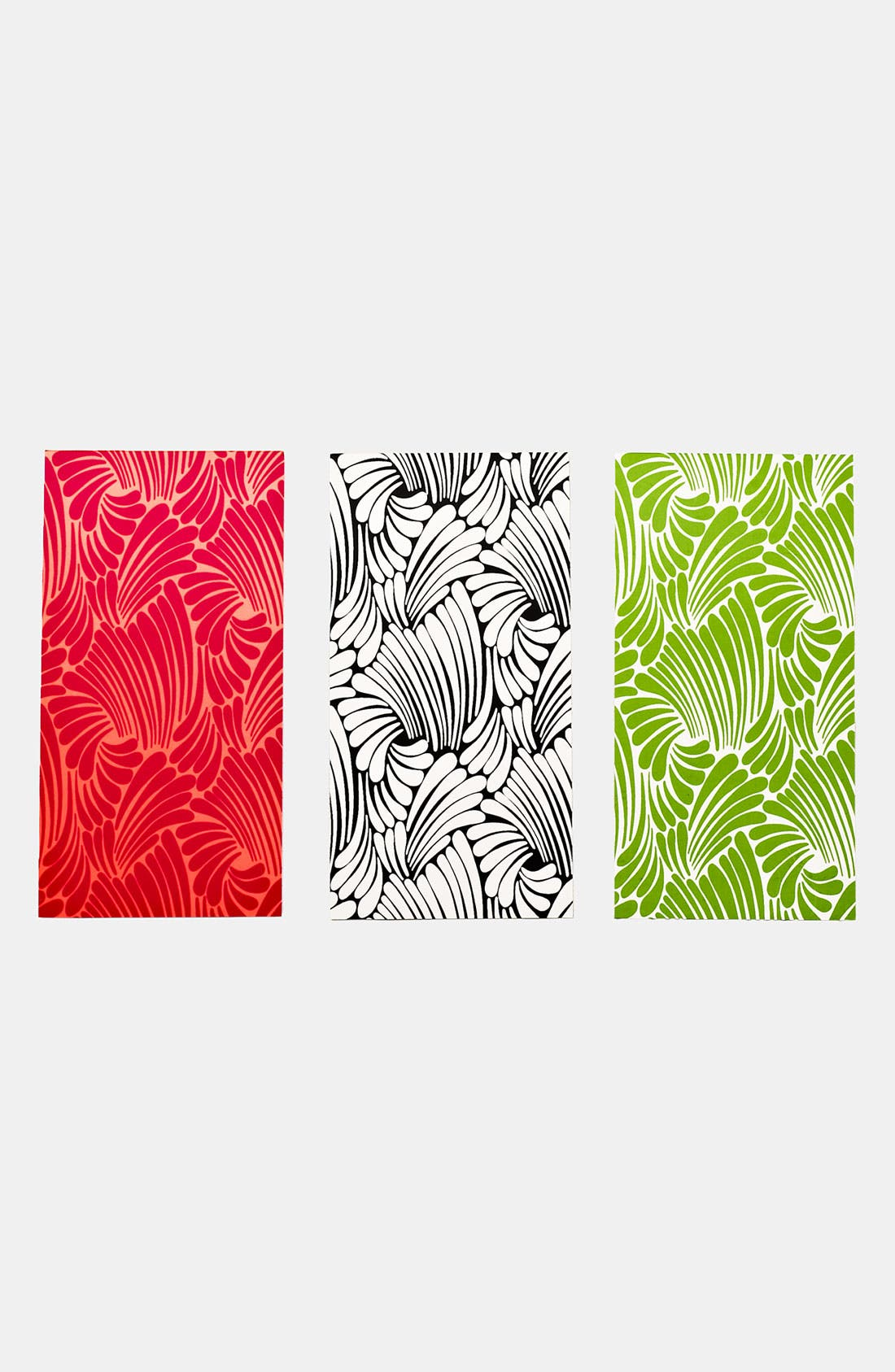 Main Image - kate spade new york 'florence broadhurst' notepad (Set of 3)