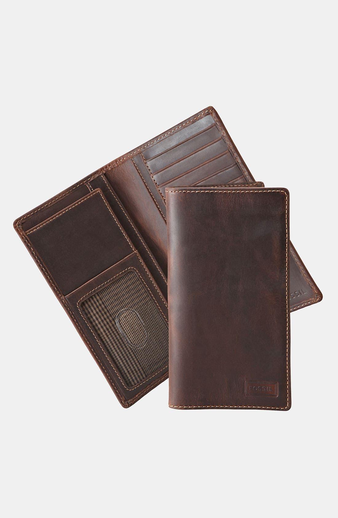 Main Image - Fossil 'Sam Secretary' Wallet