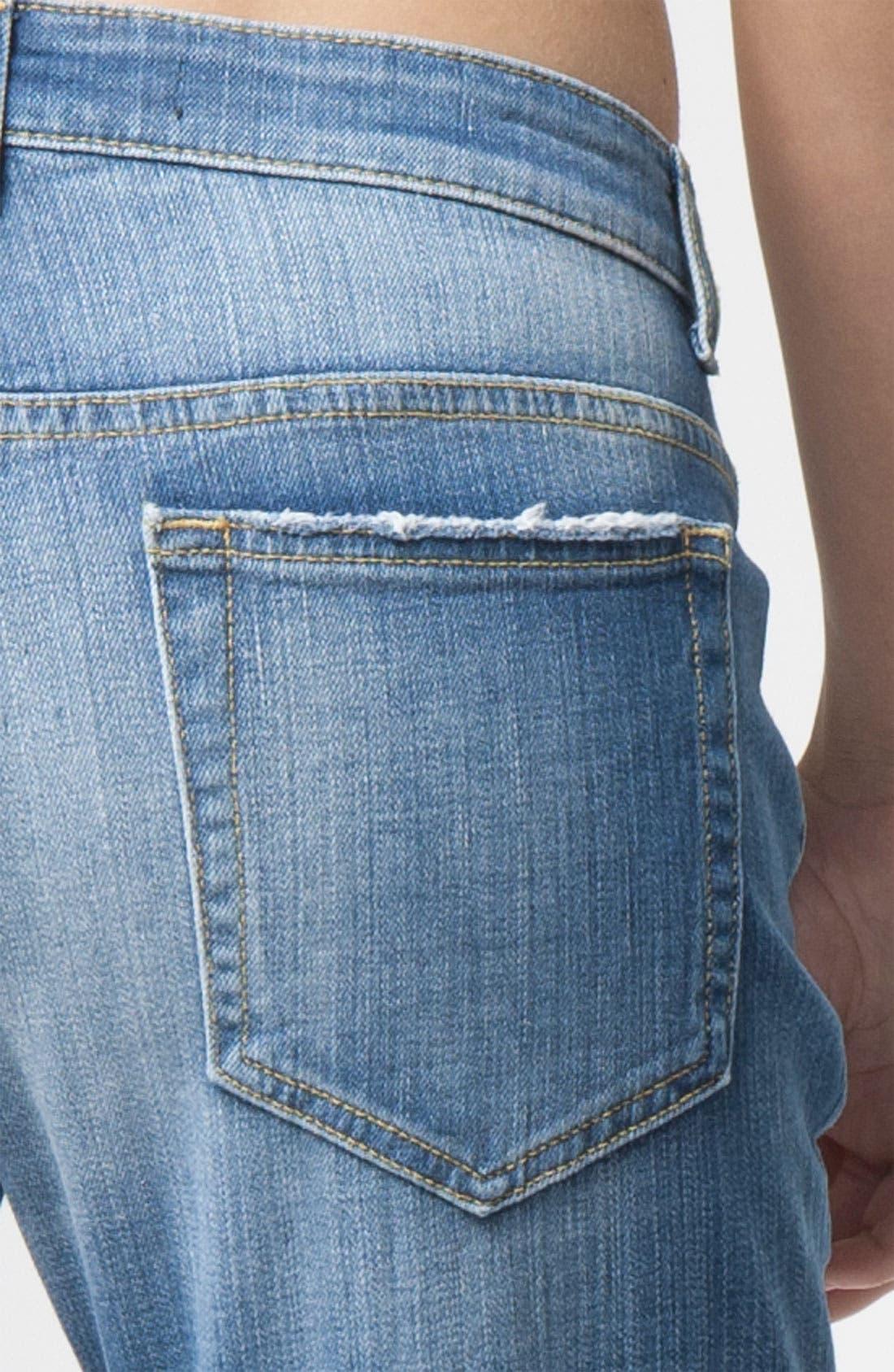 Alternate Image 3  - Joe's 'Easy Fit' Destroyed Crop Jeans (Penelope)