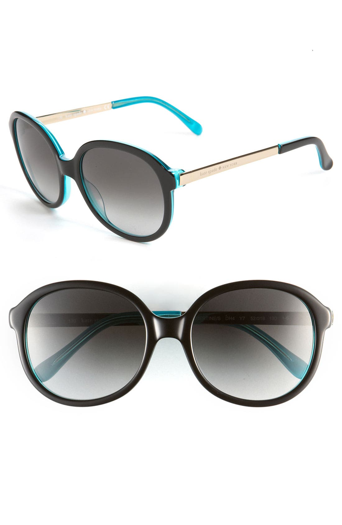 Alternate Image 1 Selected - kate spade new york oversized sunglasses