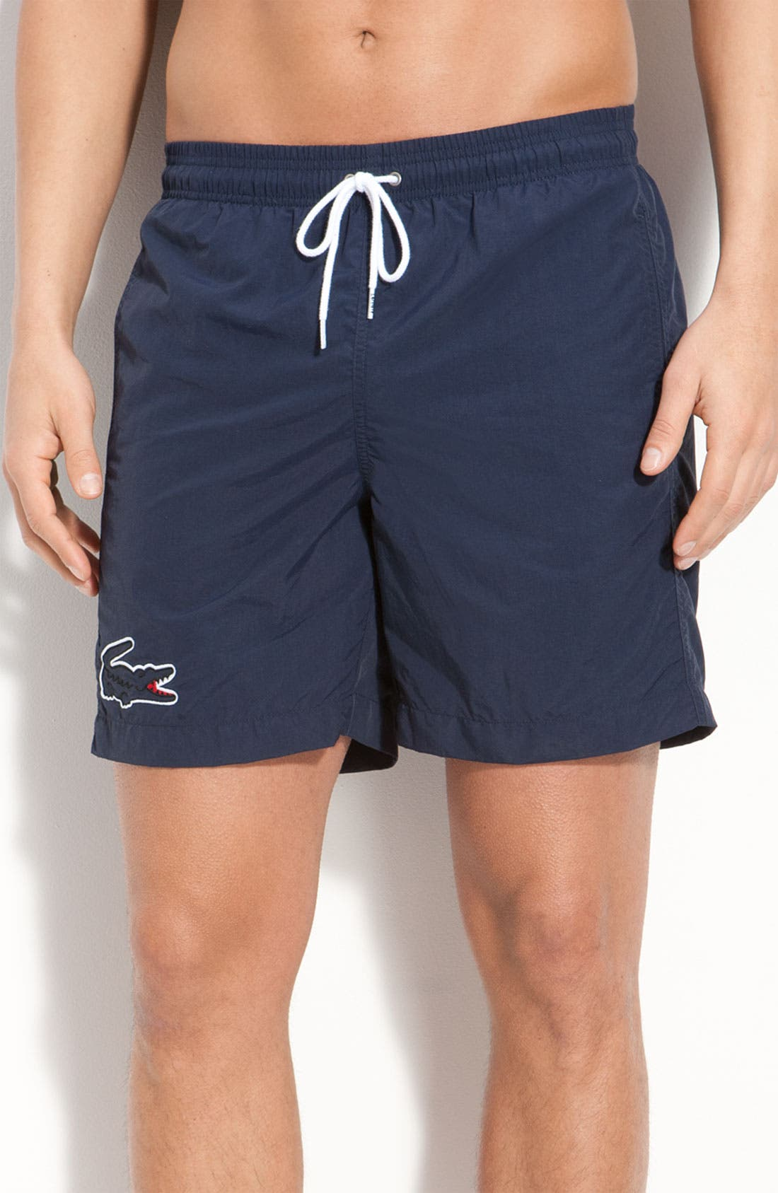 Alternate Image 1 Selected - Lacoste Swim Trunks (Online Exclusive)